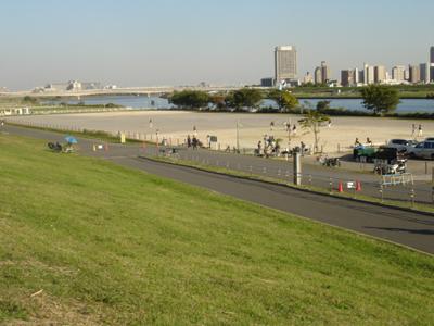 西新井橋緑地野球場 足立区