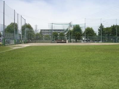 谷中公園野球場