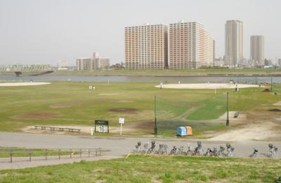 江戸川病院前野球場 江戸川区