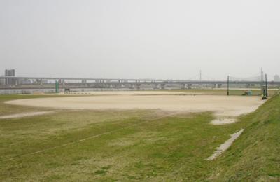 小松川橋上流野球場 江戸川区