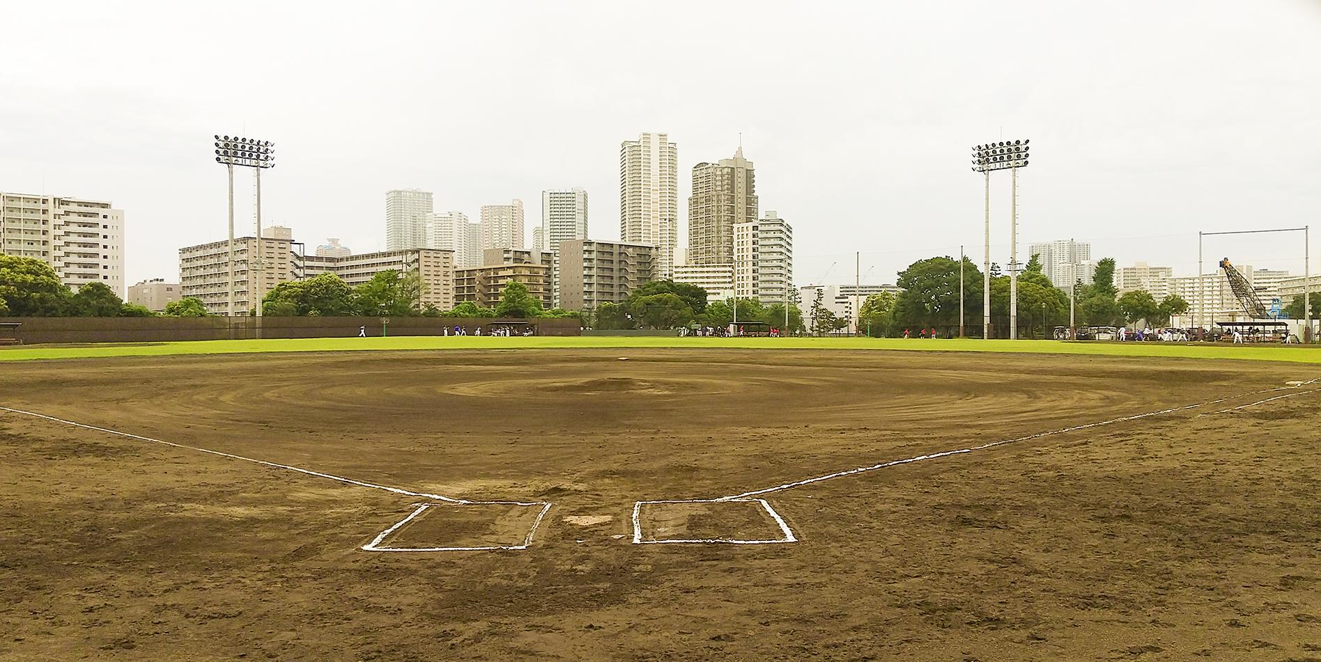 潮見野球場