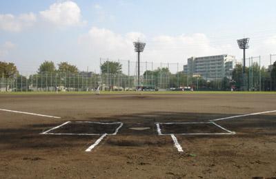 東綾瀬公園野球場